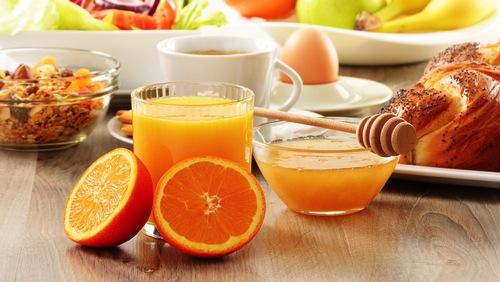 colazione inizia la giornata con il buon umore . Isabelle Amato